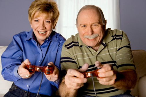 Seniors get healthy boost from video games