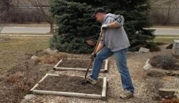 Gardening seniors nourish themselves, the earth