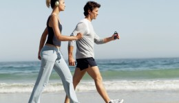 Brisk walking as good as running