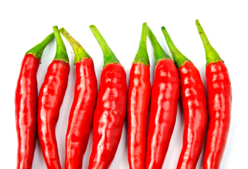 Thrill-seekers like their food hot and spicy
