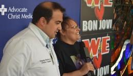 Bon Jovi fan gets new heart