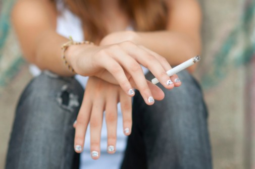 Why young adults smoke