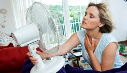 Exercise won't relieve hot flashes, study finds