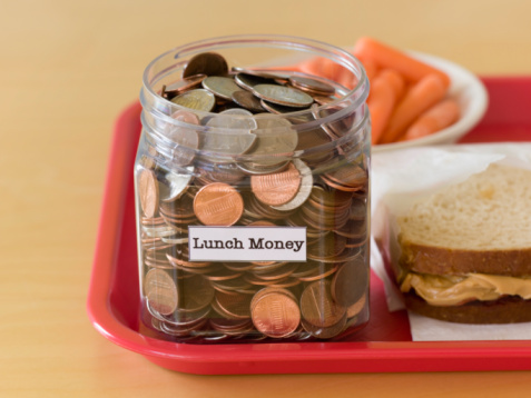 Image result for kids paying for lunch