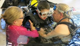 Nurse by day, scuba instructor by night