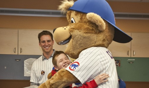 There were lots of hugs for Clark that day.