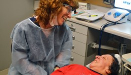 Special needs patients receive special dental care