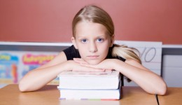 Concussion effects on a child's schoolwork