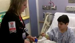 Magic, music and art helping kids heal