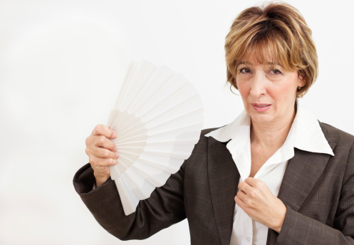 Hot flashes are no joke