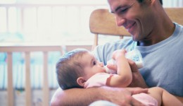 Can caring for a baby change a man's brain?