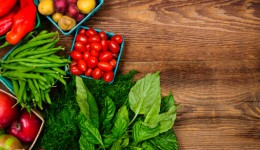 Life-long benefits of higher servings of veggies