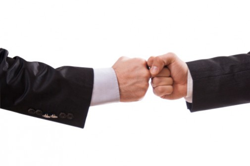 Study shows fist bump may be safest greeting