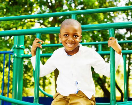 Green schoolyards lower kids' stress