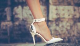 Flip-flops vs. high heels