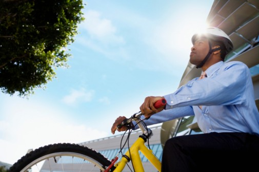 Can biking to work improve your mood?
