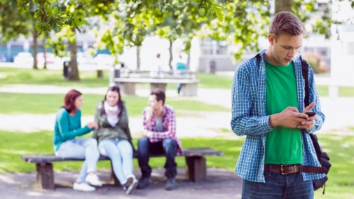 Smartphone addiction high among college students