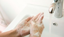 Hand washing important for hospital patients