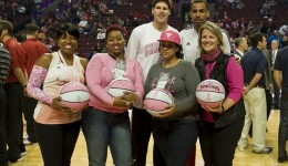Breast cancer survivors honored