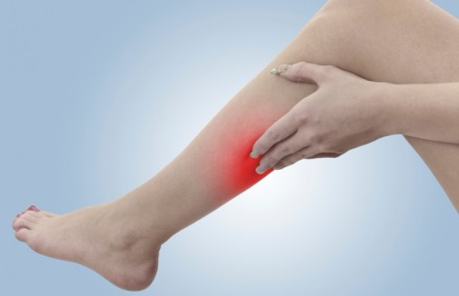 Device for clearing leg arteries under study