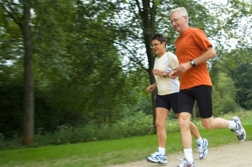 Running improves seniors' ability to walk