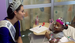 Treating kids like royalty