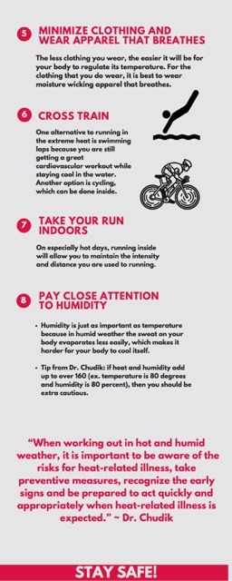 8 tips for safe summer running HEN infographic page 2
