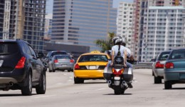 Is lane splitting safe for motorcycles?