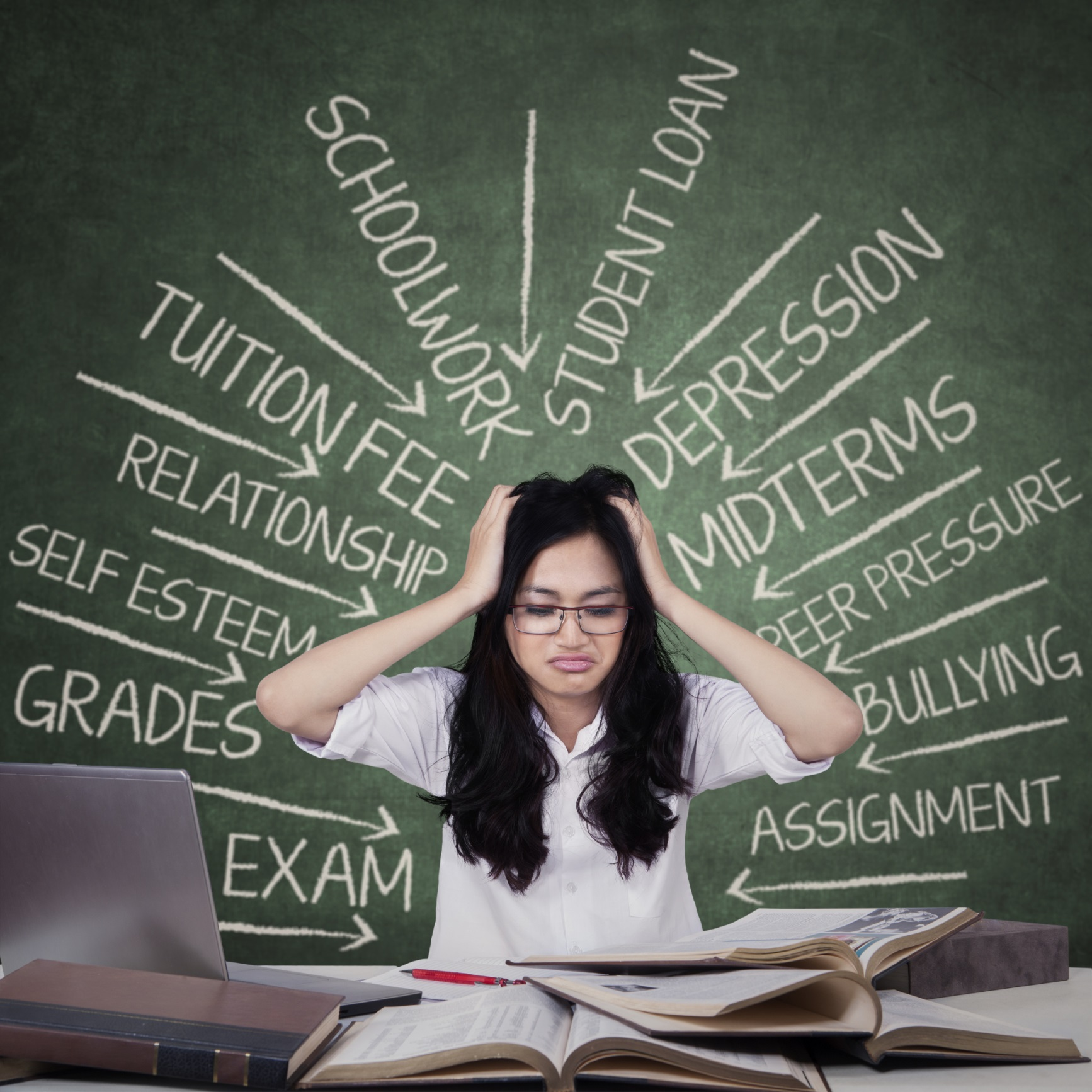 Stress Test Business: How College Students Can Deal With Anxiety