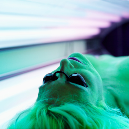 Indoor tanning rates declining