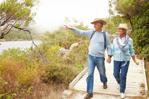 Green spaces help seniors fight the blues