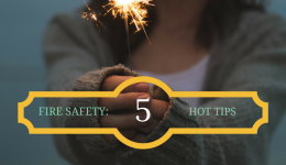 Infographic: 5 summer fire safety tips