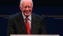 Jimmy Carter says his faith is giving him peace