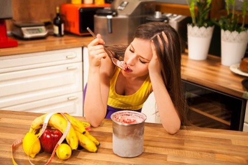 Even moderate stress can trigger excessive eating
