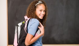 Are kids' heavy backpacks weighing them down?