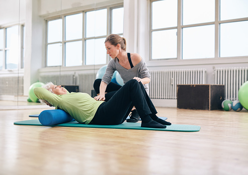 Reduce muscle soreness with a foam roller