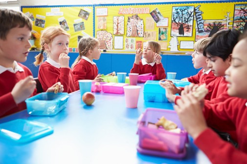 How shorter lunch periods impact kids' nutrition