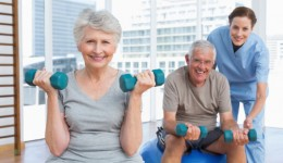 For seniors, a small amount of exercise goes a long way