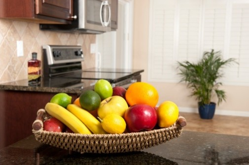 What you keep on your kitchen counter can affect your weight