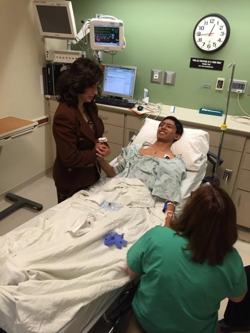 El Salvadorian teens receive life-changing procedure