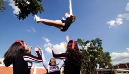 How safe is cheerleading compared  to other sports?