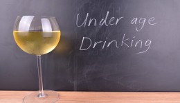 How high is the rate of underage drinking?