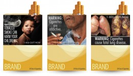 Graphic images on cigarette packs may encourage smokers to quit