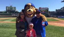 Chicago Cubs honor nine-year-old girl with neuroblastoma