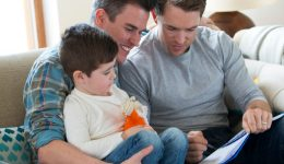 New research: Same-sex couples raise well-adjusted kids