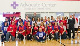 Advocate nurses honored at Chicago Bulls event