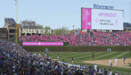 Video: #PinkOut at Wrigley Field