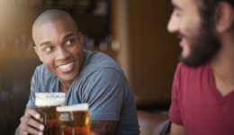 Do moderate drinkers have better heart health?