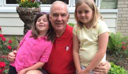 8-year-old responds to grandpa's stroke