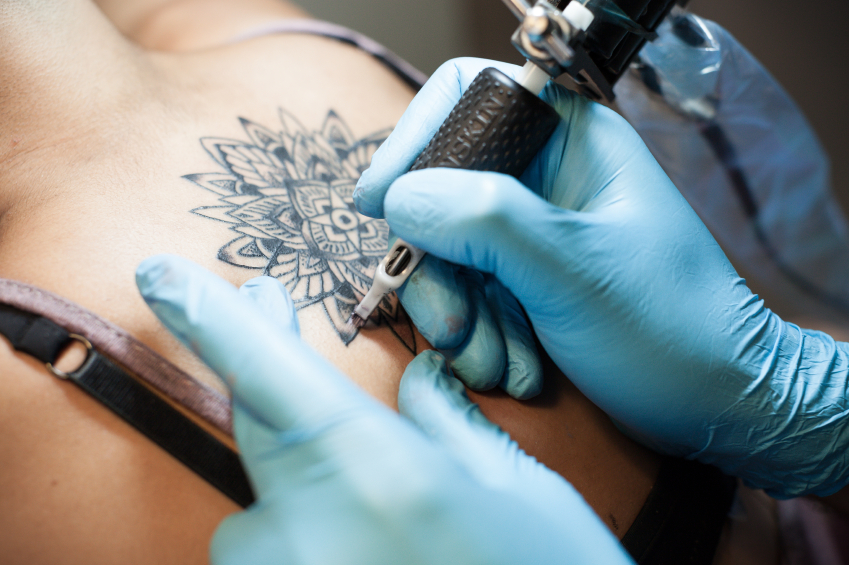 Výsledek obrázku pro getting a tattoo